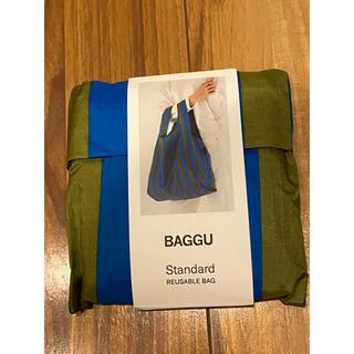BEAMS - BAGGU cyan stripe standardサイズ