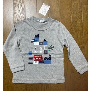 familiar - 新品タグ付き★ファミリア★車・飛行機・のりもの柄Tシャツ