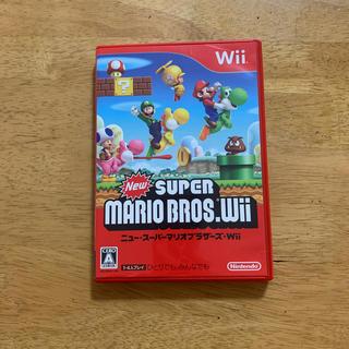 ウィー(Wii)のWiiソフト ニュースーパーマリオブラザーズWii(家庭用ゲームソフト)