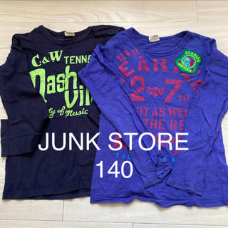 JUNK STORE - ジャンクストア JUNK STORE 140 ロンT  140