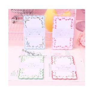 M28 メモパッド 4種 セット まとめ売り かわいい メモ帳 紙もの(ノート/メモ帳/ふせん)