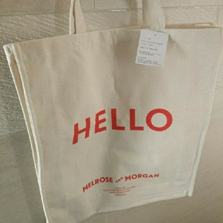BEAUTY&YOUTH UNITED ARROWS - メルローズアンドモーガン 新品 限定 HELLO トートバッグ エコバッグ