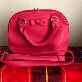 レピピアルマリオ(repipi armario)のレピピアルマリオ 2wayバッグ ピンク(ショルダーバッグ)