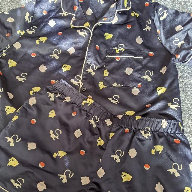 GU(ジーユー)のGU ポケモンパジャマ L レディースのルームウェア/パジャマ(パジャマ)の商品写真