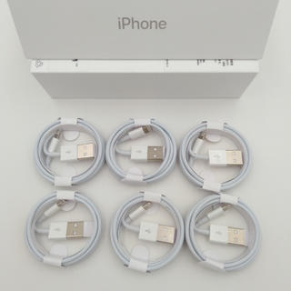 Apple - 6本セット iPhone 純正ケーブル