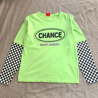 レピピアルマリオ(repipi armario)のTシャツ グリーン(Tシャツ/カットソー)