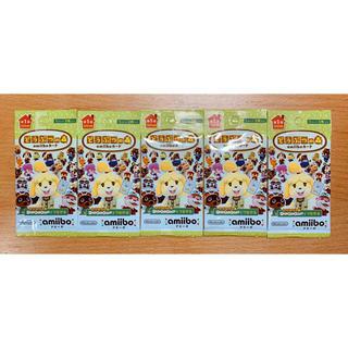 Nintendo Switch - 即日発送可能 5パックとびだせどうぶつの森 第1弾 amiiboカード