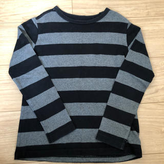 UNIQLO - ★ユニクロ★ボーダー長袖Tシャツ 130cm