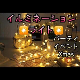 イルミネーション ライト 電球 クリスマス パーティ 誕生日 インテリア 北欧(蛍光灯/電球)