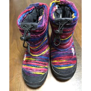 ザノースフェイス(THE NORTH FACE)のザノースフェイス スノーブーツkids 18 19 スキースノーボード(ブーツ)