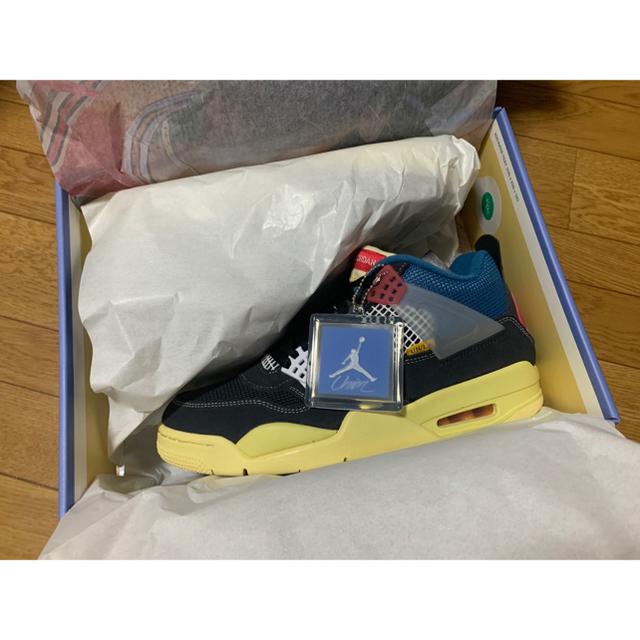 NIKE(ナイキ)のNIKE×UNION AIR JORDAN 4 RETRO SP 27cm  メンズの靴/シューズ(スニーカー)の商品写真