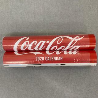 コカコーラ(コカ・コーラ)のコカコーラ 綾瀬はるか オリンピックカレンダー 二個セット(ノベルティグッズ)