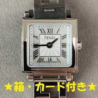FENDI - ☆特価セール☆ 【フェンディ】 腕時計 アナログ 60500L-960 シルバー