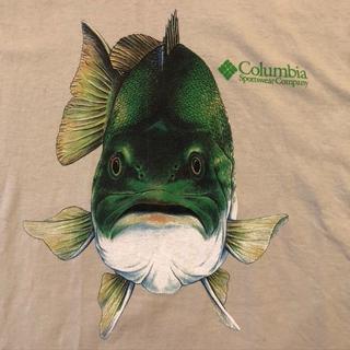 Columbia - 【美品】コロンビア メンズTシャツ Lサイズ ブラックバス