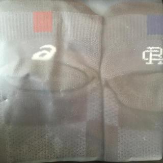 アシックス(asics)のレイニングチャンプ アシックス 靴下 ソックス Lサイズ(ソックス)