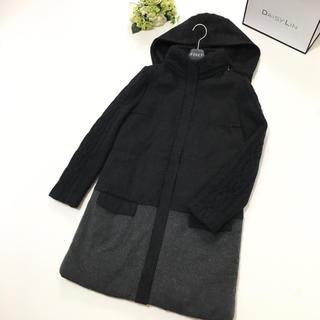 フォクシー(FOXEY)の美品 定価23万円 フォクシー FOXEY カシミヤ 中綿 ロング コート(ロングコート)