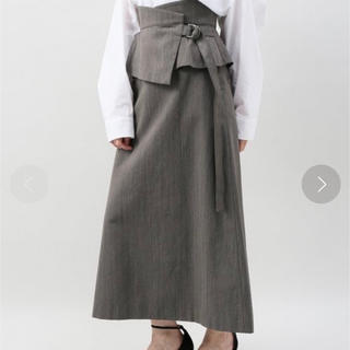 プラージュ(Plage)のプラージュ ヘリンボーンスカート (ロングスカート)