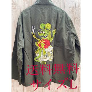ワコマリア(WACKO MARIA)のwackomaria RAT FINK TIM LEHI ARMY SHIRT(シャツ)