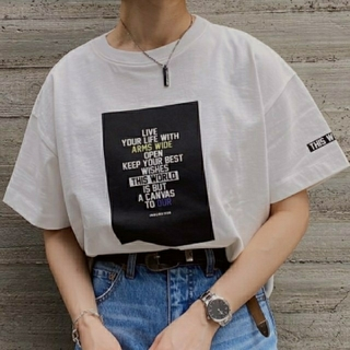 PAGEBOY - PAGEBOY BOXロゴTシャツ