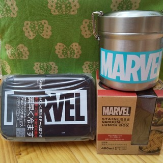 マーベル(MARVEL)の(みはれ様専用)新品★2個セット   マーベルお弁当箱(弁当用品)