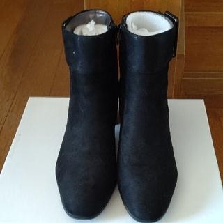 マドラス(madras)のtehen ブーツ 黒  23.5cm(ブーツ)