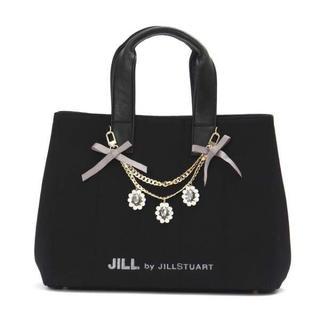 ジルバイジルスチュアート(JILL by JILLSTUART)のJILL BY JILLSTUART ジュエルリボントートバッグ(トートバッグ)