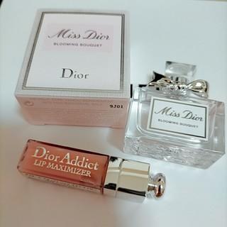 Christian Dior - ミスディオール ブルーミングブーケ 5ml リップマキシマイザー001 サンプル