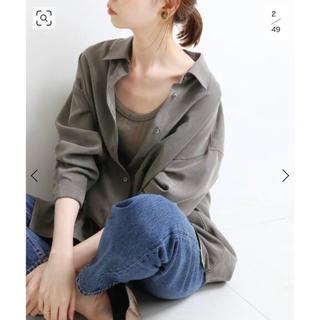 IENA - 2020AW パウダーポプリンシャツ