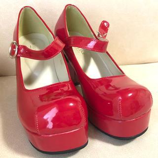 BODYLINE - 赤パンプス23.5cm 靴 ロリータ コスプレ ボディライン