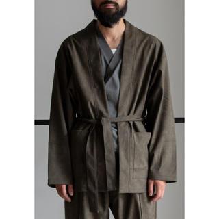 マーカウェア(MARKAWEAR)の020AW完売 ECO SUEDE BELTED JACKET & PANTS(テーラードジャケット)