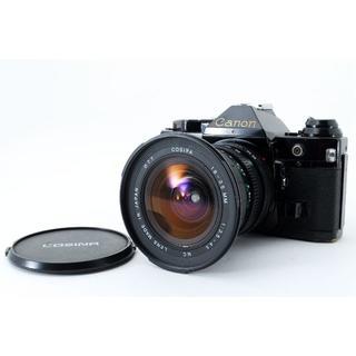 キヤノン(Canon)のキャノン AE-1 PROGRAM + Cosina レンズ(フィルムカメラ)