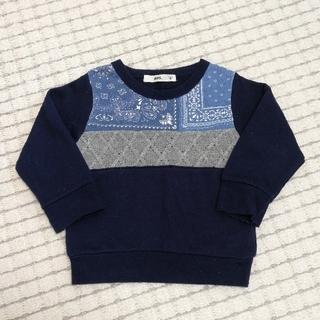 ライトオン(Right-on)の100 トレーナー ライトオン 紺(Tシャツ/カットソー)