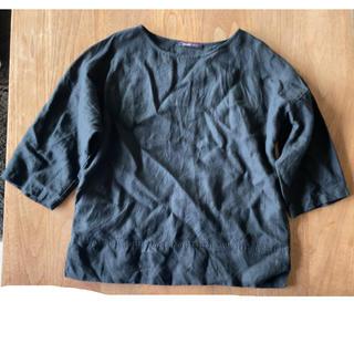 フォグリネンワーク(fog linen work)のVALLERI リネンブラウス イタリア製(シャツ/ブラウス(長袖/七分))