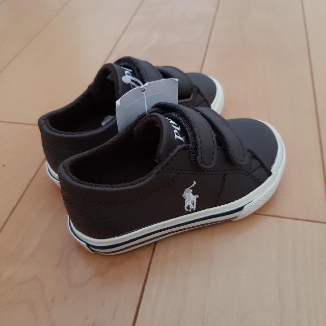 POLO RALPH LAUREN(ポロラルフローレン)の特価!!ポロ・ラルフローレン キッズスニーカー「スカラーEZ」 キッズ/ベビー/マタニティのベビー靴/シューズ(~14cm)(フォーマルシューズ)の商品写真