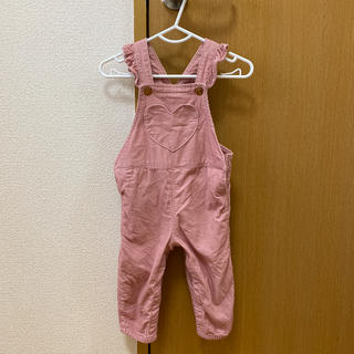 H&M - H&M★ベロアサロペット 新品未使用