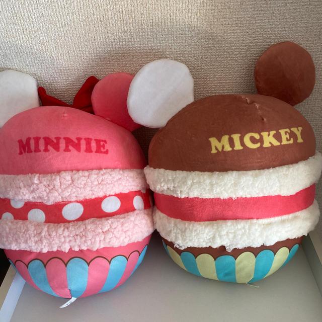 Disney(ディズニー)のミッキー ミニー ぬいぐるみ セット エンタメ/ホビーのおもちゃ/ぬいぐるみ(ぬいぐるみ)の商品写真