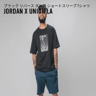 NIKE - union jordan Tシャツ black XSサイズ