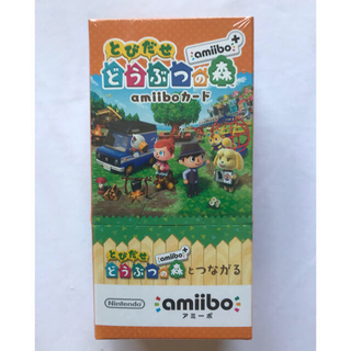 ニンテンドウ(任天堂)の【新品未開封】とびだせ どうぶつの森amiiboカード1BOX 20パック入り(その他)