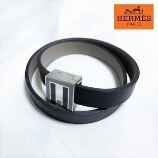 エルメス(Hermes)の送料無料 新品同様 エルメス A to Z ブレスレット バングル M001(ブレスレット/バングル)