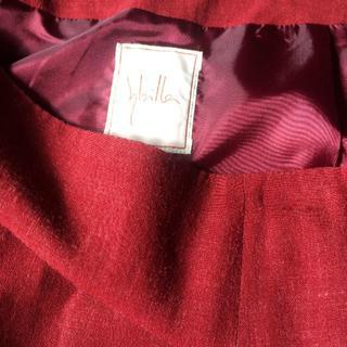 シビラ(Sybilla)の❤値下げしました♥シビラのプリーツが二本入ったスカート(ひざ丈スカート)