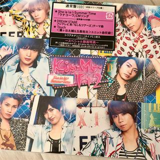 キスマイフットツー(Kis-My-Ft2)のSha la la☆Summer Time初回通常盤(ポップス/ロック(邦楽))