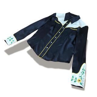 トーガ(TOGA)のMarc Jacobs 刺繍 ウエスタン シルク シャツ トップス(シャツ/ブラウス(長袖/七分))