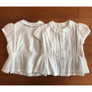 キャラメルベビー&チャイルド(Caramel baby&child )の[りり様専用]little cotton clothes  ブラウス(シャツ/カットソー)