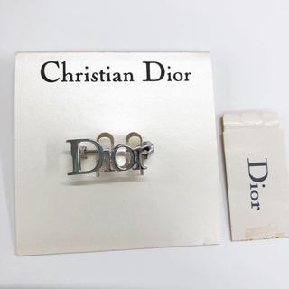 ディオール(Dior)のDior ディオール アクセサリー ブローチ コサージュ シルバー (ブローチ/コサージュ)