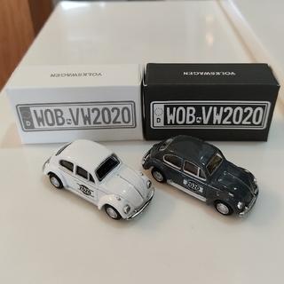 フォルクスワーゲン(Volkswagen)のフォルクスワーゲン Volkswagen Beetle ミニカー 2点セット(ミニカー)