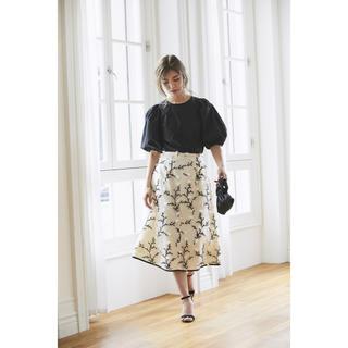 Chesty - セブンテン ツイード刺繍スカート