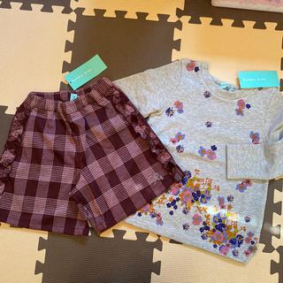 ハッカキッズ(hakka kids)の専用 おまとめ3点 新品 ハッカキッズ 120 セット(Tシャツ/カットソー)