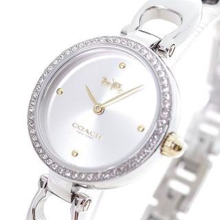 コーチ(COACH)のコーチ 腕時計 レディース 14503173 シグネチャー クォーツ シルバー(腕時計)