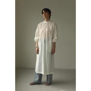 TODAYFUL - todayful  Gauze gather dress