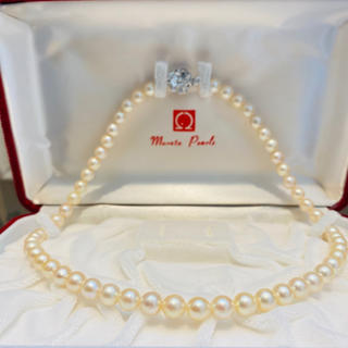 【美品】あこや真珠 ネックレス 20Y-148